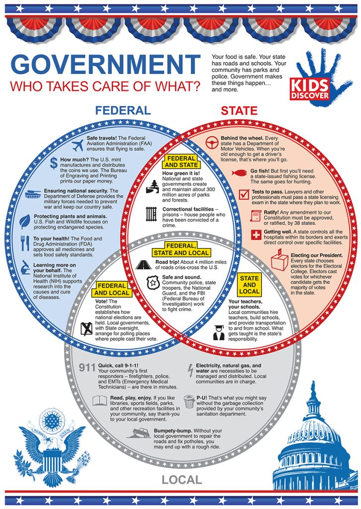 "Federal, State, and Local Government- ""Who takes care of what?"""