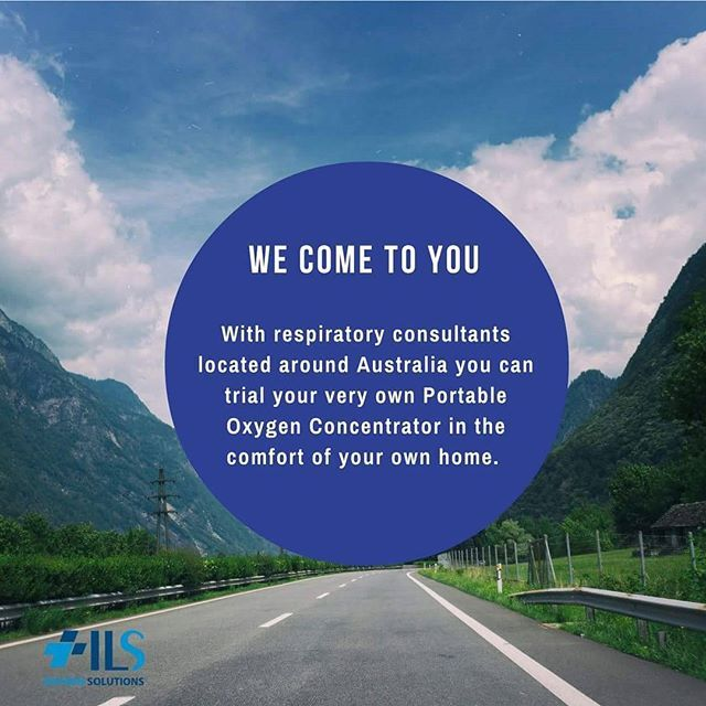 WE COME TO YOU!  With respiratory consultants located around #Australia you can trial your very own #PortableOxygenConcentrator in the comfort of your own home. Please call 1300 558 947 to book an appointment*. .www.oxygensolutions.com.au