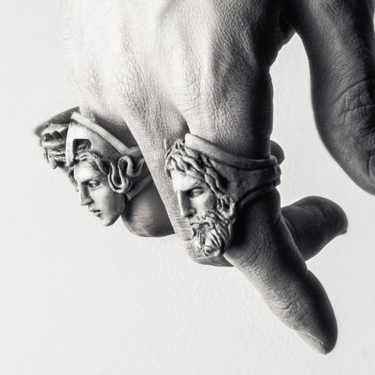 Thea II Ring by Macabre Gadgets | Architect's Fashion http://www.thesterlingsilver.com/product/buddha-to-buddha-780dr-denise-cord-dark-grey-large-bracelet-of-length-21cm/