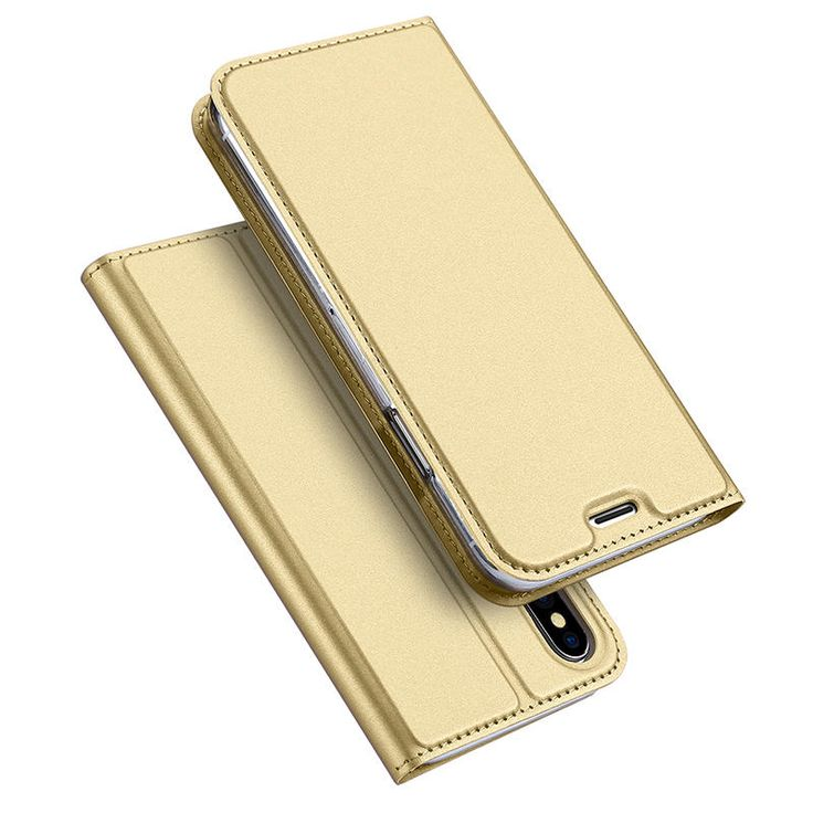 DUX DUCIS Magnetic Flip Card Slot Bracket PU Leather Case For iPhone X Sale - Banggood.com  #iphone #smartphones #apple