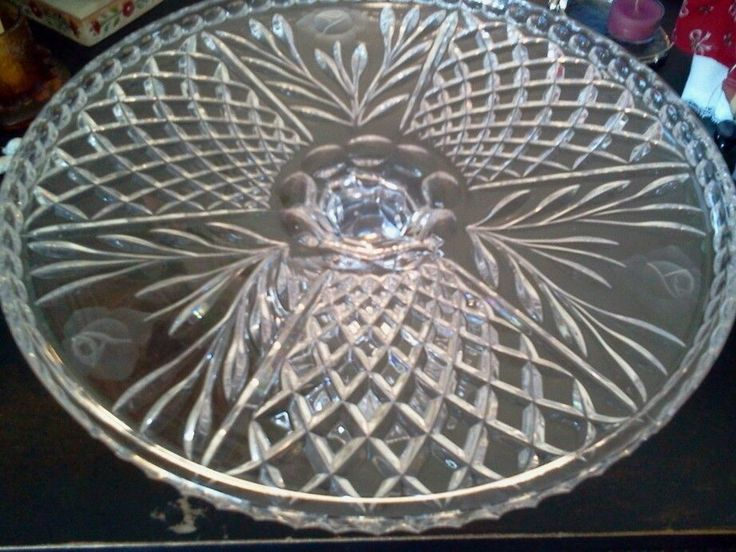 Frosting Glass With Diamond Plates