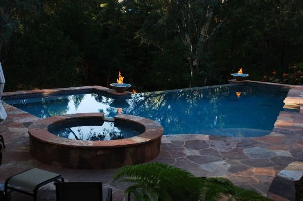 17 best images about pool ideas on pinterest hot tub deck pools and hot tub backyard for Swimming pool contractors san francisco bay area