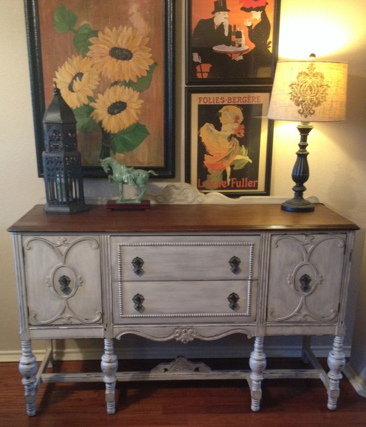 1920 S Jacobean Style Thomasville Chair Co Buffet