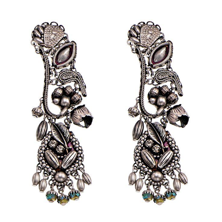 Sagittarius Napoli Earrings | Ayala Bar Indigo Collection – Winter 2015/16