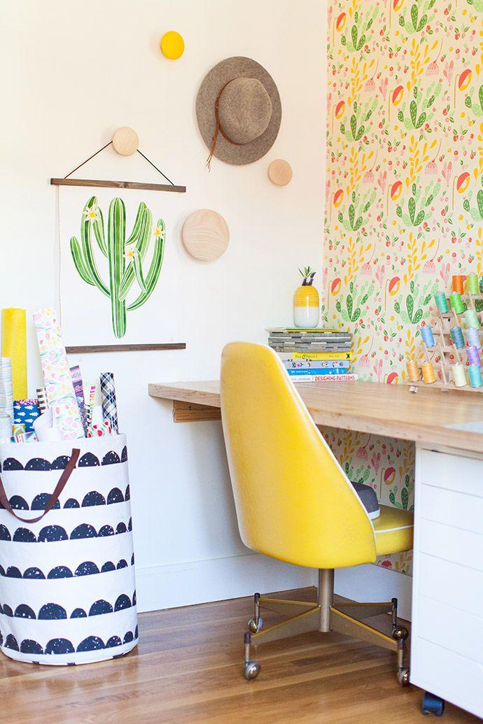 A bright, cheerful corner