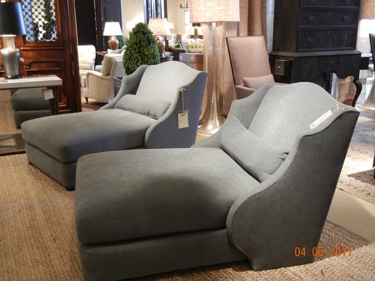 TV Lounger chaises by Lee Industries basement tv/movie area