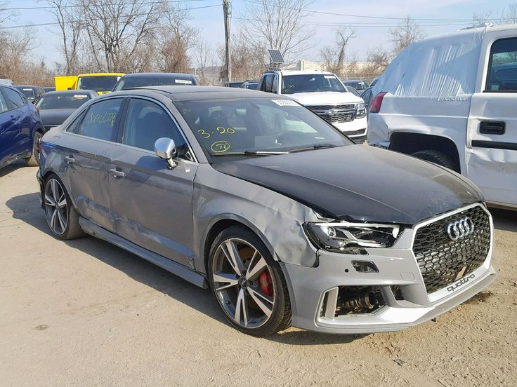 Salvage 2018 Audi Rs3 Na For Sale Salvage Title