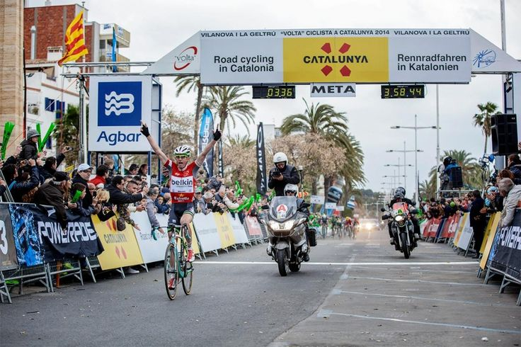 CLEMENT WINS VOLTA A CATALUNYA STAGE IN MOUNTAIN JERSEY
