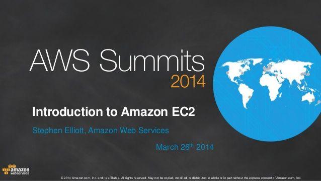 Introduction to Amazon EC2