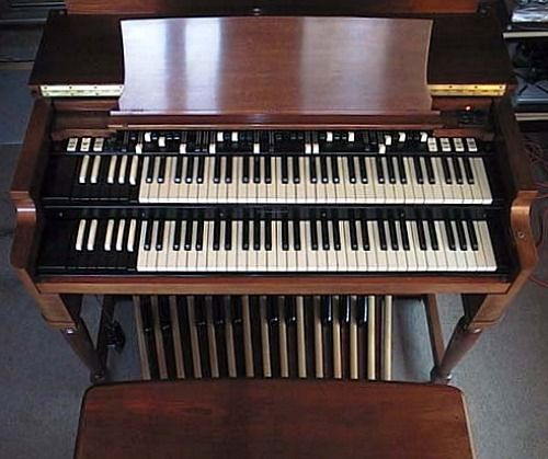 Beautiful Empty Hammond organ Cabinet