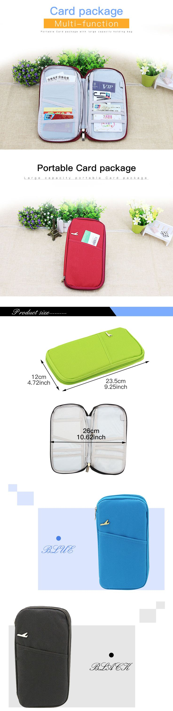 Yesello Travel Passport Cover ID Credit Card Purse Storage Money Holder Case Bag Wallet For Women , https://myalphastore.com/products/yesello-travel-passport-cover-id-credit-card-purse-storage-money-holder-case-bag-wallet-for-women/,