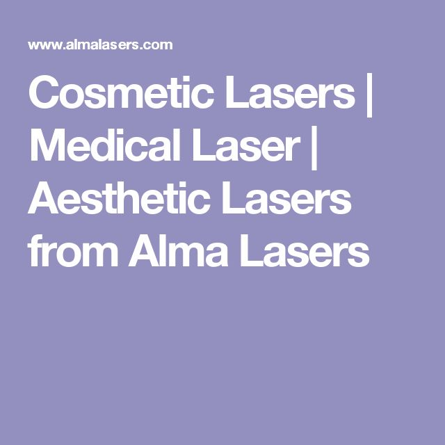 Cosmetic Lasers | Medical Laser | Aesthetic Lasers from Alma Lasers