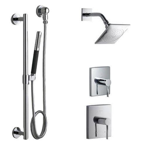 kohler dtv shower system review essentials systems chrome brushed nickel