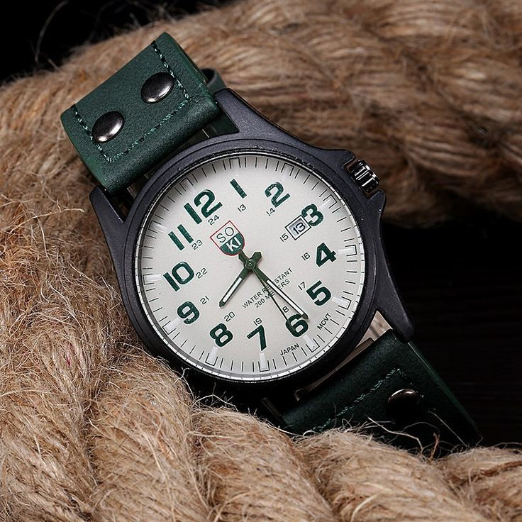 SOKI Brand Hours Digital Watch relojes para hombre Men's Clock Quartz Relogio Masculino Military Sport Men's Casual Wristwatches - Online Shopping for Watches