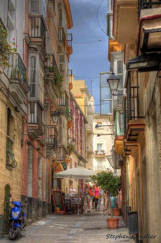 The Streets of Cadiz, Spain