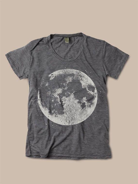 Womens pleine lune graphique Print Vintage Bobo par FreeBirdCloth