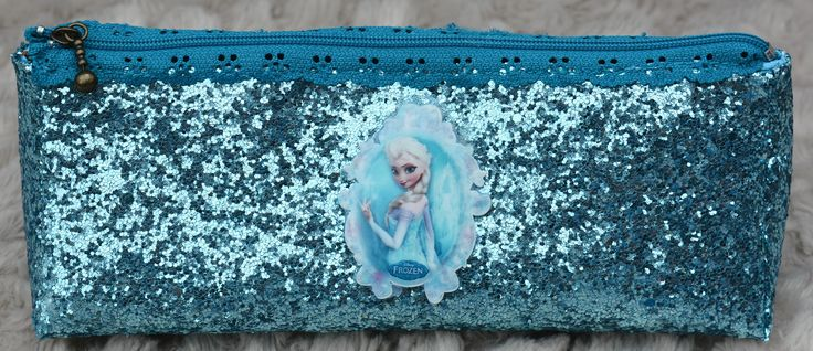 Frozen Elsa Inspired Pencil Case/Cosmetic Bag https://www.etsy.com/uk/shop/Thimbles1?ref=hdr_shop_menu