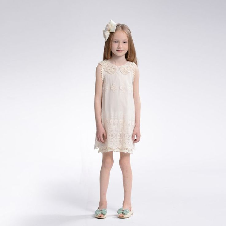 Cheap clothing casual, Buy Quality clothing childrens directly from China clothing Suppliers:    shij121    new 2013 2014 pearl collar lace chiffon girl dress    vintage formal dresses    2~11age party dresses &nb