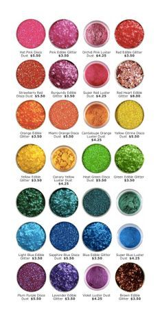 Edible Glitter Sugar on Pinterest