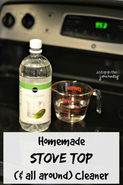 How to Clean Your Stove & Microwave (the easy way)