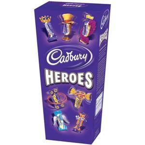 Cadbury Heroes (185g) Miniature Chocolates Selection Box