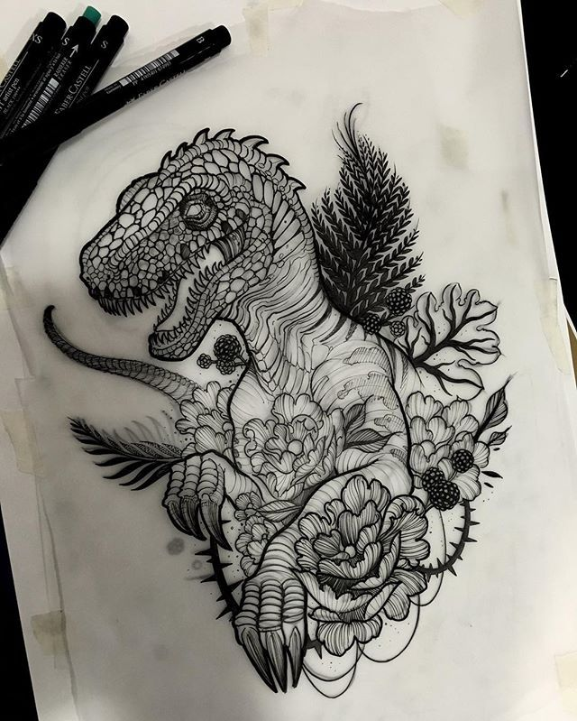25+ Best Ideas about Velociraptor Tattoo on Pinterest ...