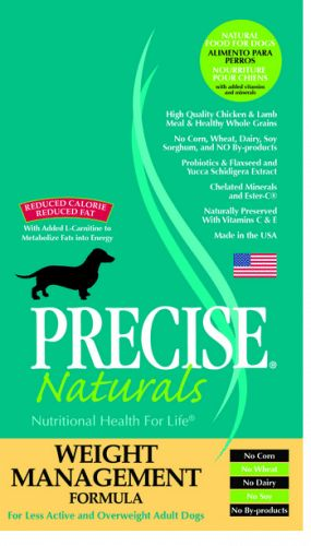 Precise Naturals Weight Management Formula Dry Dog Food