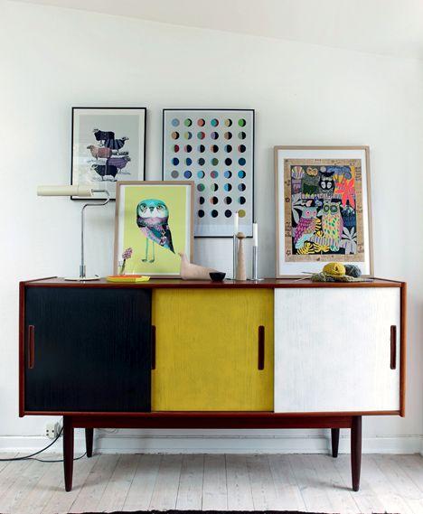 Lys ateliervilla: Hjemme hos Mis med de blå øjne - Boligliv
