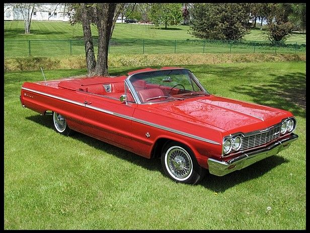 1964 Chevrolet Impala SS Convertible 409/425 HP, 4-Speed