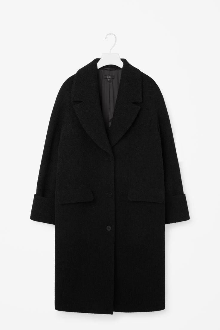COS | Oversized coat with fold-up sleeves