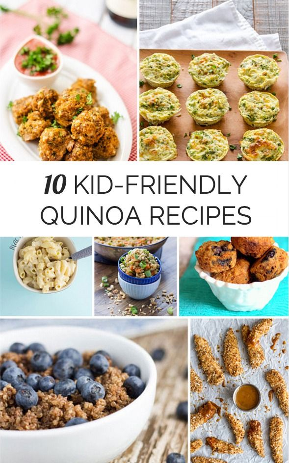 Yummy ways for kids to try healthy quinoa in everyday kid-friendly recipes.