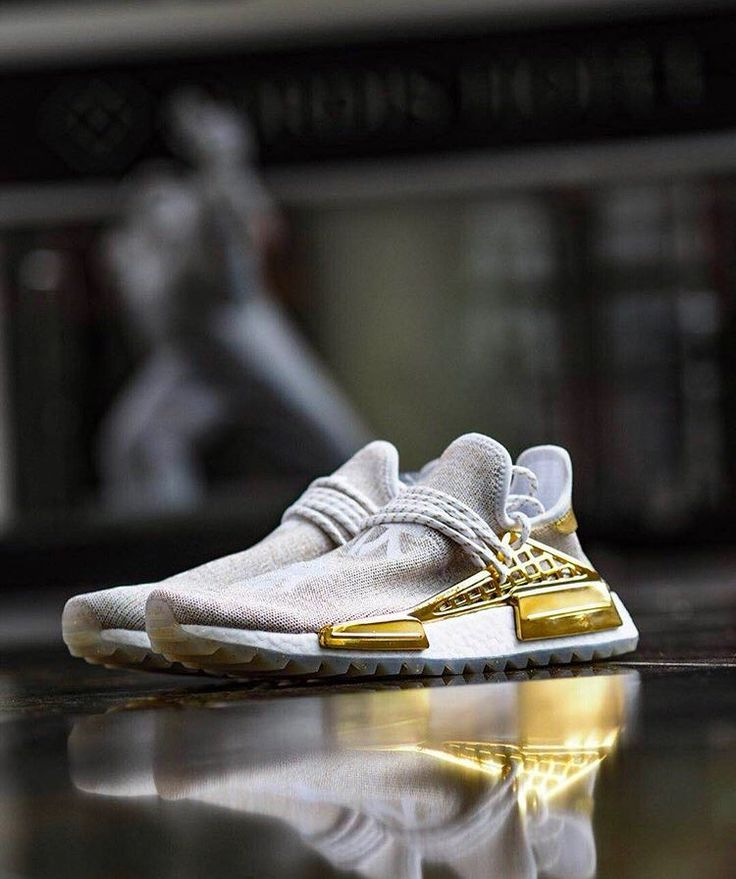 ec525e167 Mens size Human Race Adidas HU Holi Gold Happy   PW unauthorized shoes in  2019