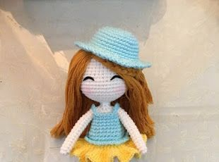 Amigurumi Doll Gratuit : 1464 best doll dolly fun images on pinterest crochet dolls