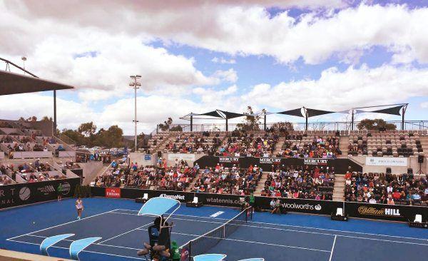 Hobart International, Emirates Australian Open Series ~ article and photo for think-tasmania.com ~  #Tasmania #Hobart #tennis #sport