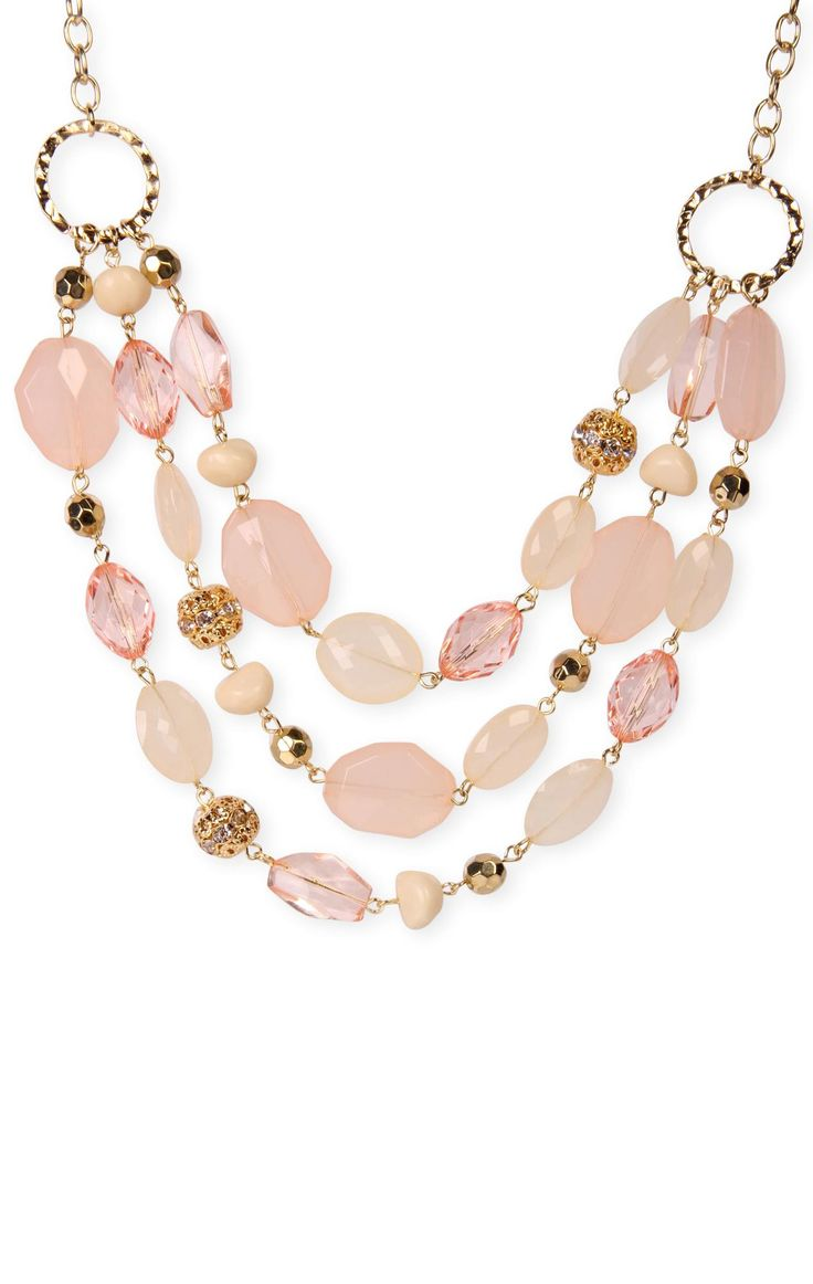 multi layered #bead #necklace  $9.37