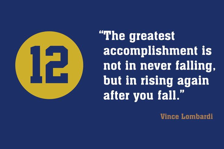 Green Bay Packers, Coach Vince Lombardi Quote