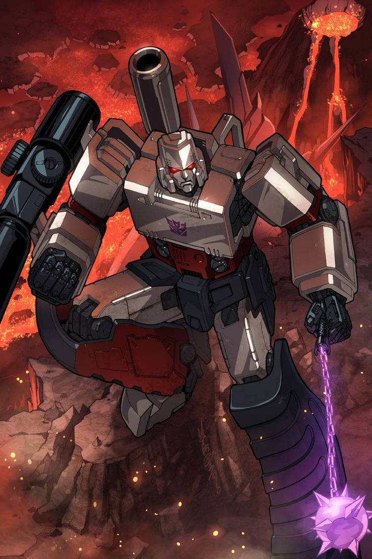 Transformers - Megatron by Alex Milne