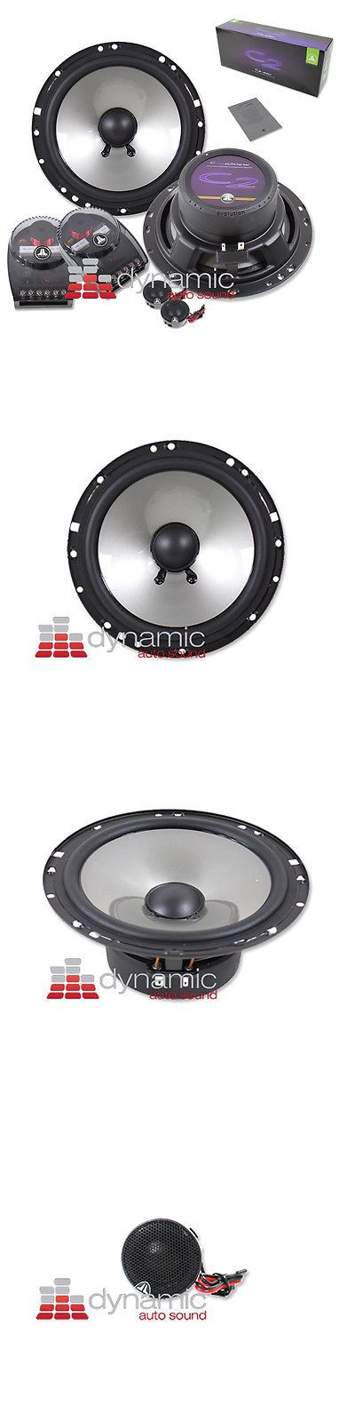 "Car Speakers and Speaker Systems: Jl Audio C2-650 Component Car Stereo Speakers 6.5"" 2-Way 200 Watts C2650 New BUY IT NOW ONLY: $159.95"