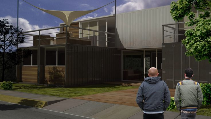 Container house!!! #arquitecture #container #proyect