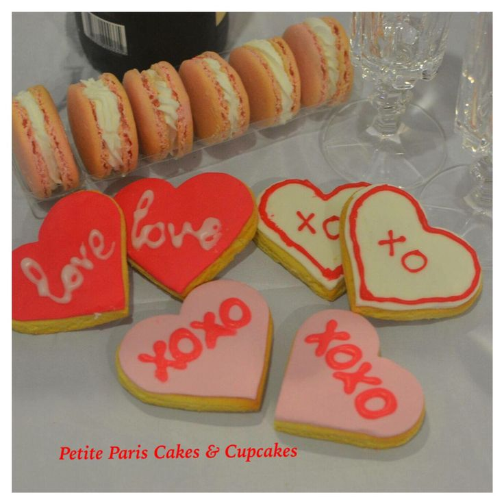 spoil your loved one with these #valentinesday #cookies and #macarons #forhim #forher order yours today http://www.petitepariscupcakes.com/#!valentines-day/moi1s