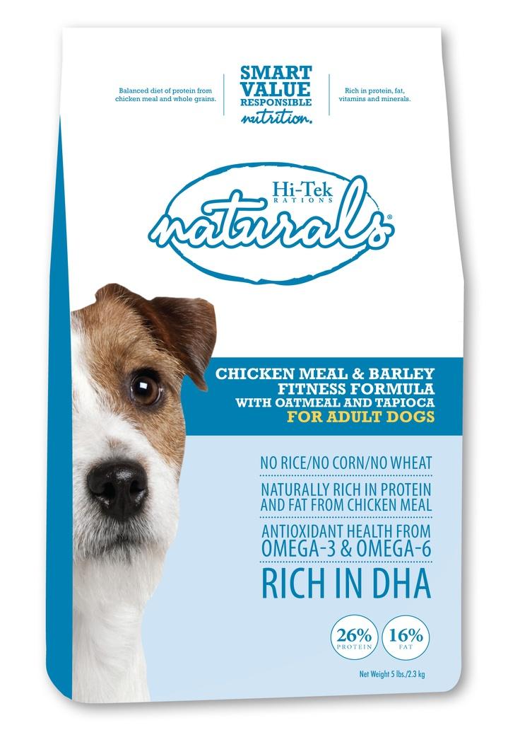 Hi-Tek Naturals Chicken Meal & Barley Fitness Formula