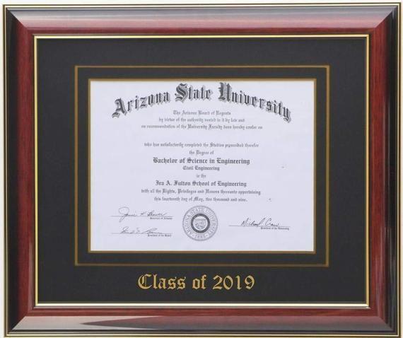 Diploma Frame Brandy Etsy Diploma Frame Document Frame Frame