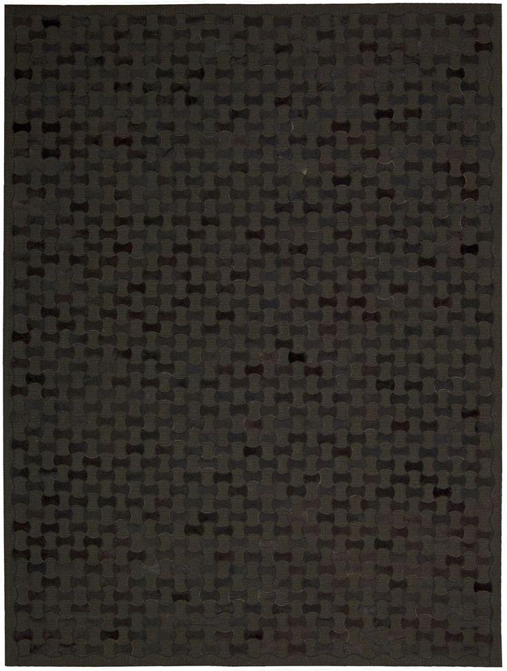 Joseph Abboud Chicago Black Area Rug By Nourison CHI01 BLK (Rectangle)