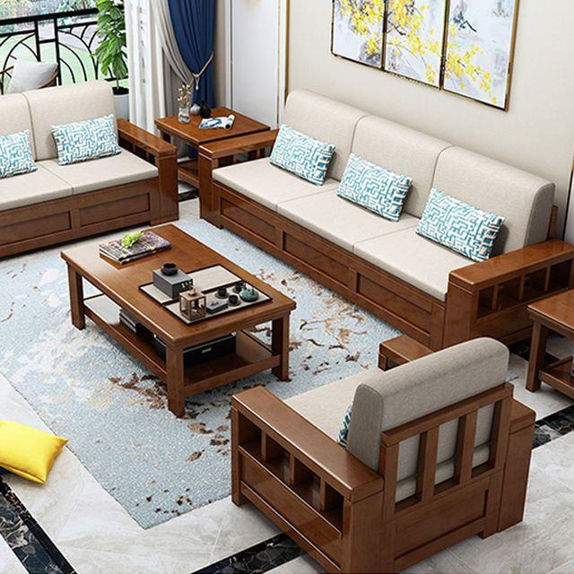 Source Modern Luxury Living Room Furniture Sofa Set Home Fabric Chesterfield Modern Sectional Tw In 2020 Furniture Design Wooden Wooden Sofa Designs Furniture Sofa Set