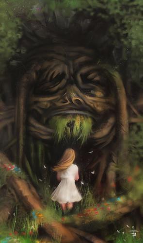 Talking Trees | Talking Trees | Fantasy art, Fairy art ...