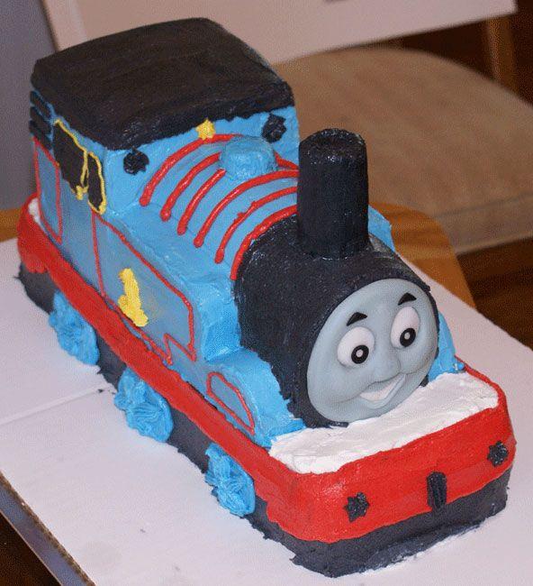 Thomas The Train Birthday Cakes Cake