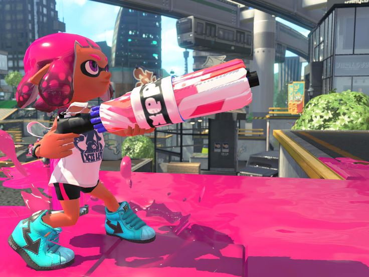 "Nintendo's next major game is about to launch — here's everything we know about 'Splatoon 2' - Nintendo is bringing ""Splatoon"" to its wildly successful Nintendo Switch console.  Splatoon originally debuted as a  Nintendo's Wii U game and while the Wii U console was a flop, it was a flop with a bunch of killer games. Stuff like ""Super Mario Maker"" and ""Donkey Kong Country: Tropical Freeze"" were underappreciated gems, handicapped by the console they were exclusive to — the Wii U.  And then…"