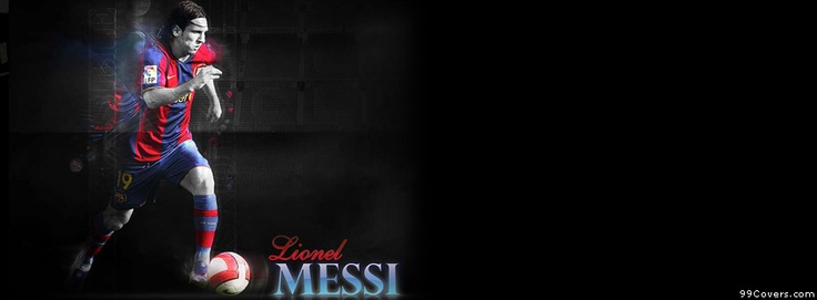 Barcelona Messi Facebook Covers