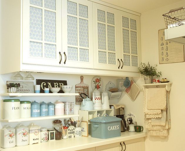 ❥❥perfect kitchen: Dreams Kitchens, Kitchens Design, Country Cottages, Vintage Kitchens, Shabby Chic, Kitchens Ideas, Kitchens Cabinets, Cottages Interiors, White Kitchens