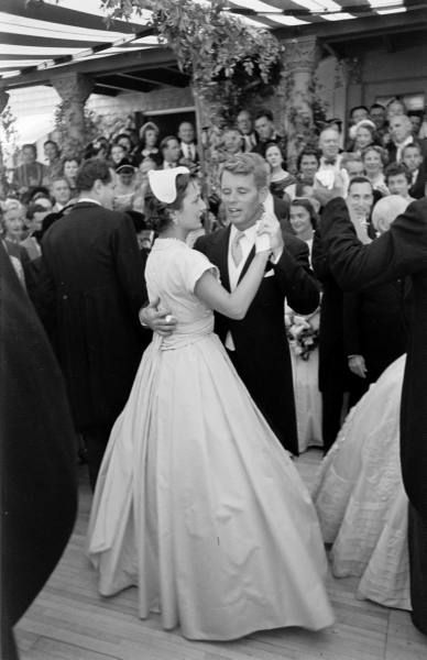 The Best Man and the Maid of Honor-- Bobby Kennedy and Lee Bouvier